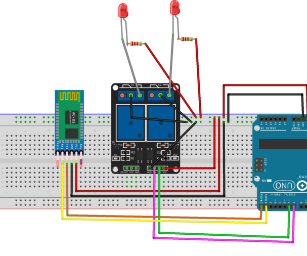 Control the Relays With Android App Using Bluetooth