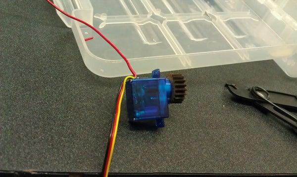 Sub-Micro Continuous Rotation Servo Modification