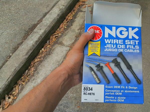 Replacing Spark Plug Wires (Honda Civic 1999 D16Y7)!
