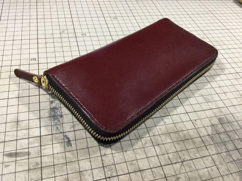 Round Zipper Wallet With Pattern