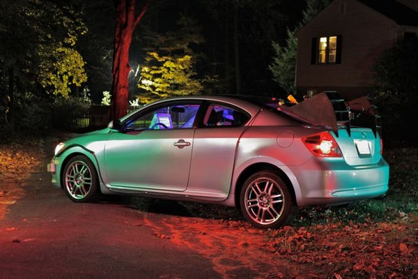 Back to the Future Time Traveling Scion TC