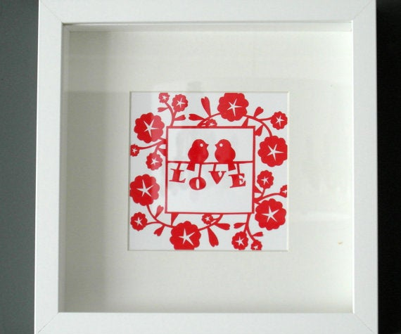 How to Make a Valentines Hand-Cut Paper Gift