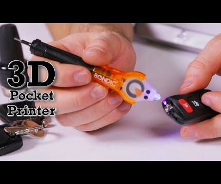 Bondic How-To - Repair/Rebuild Car Remote Key Ring