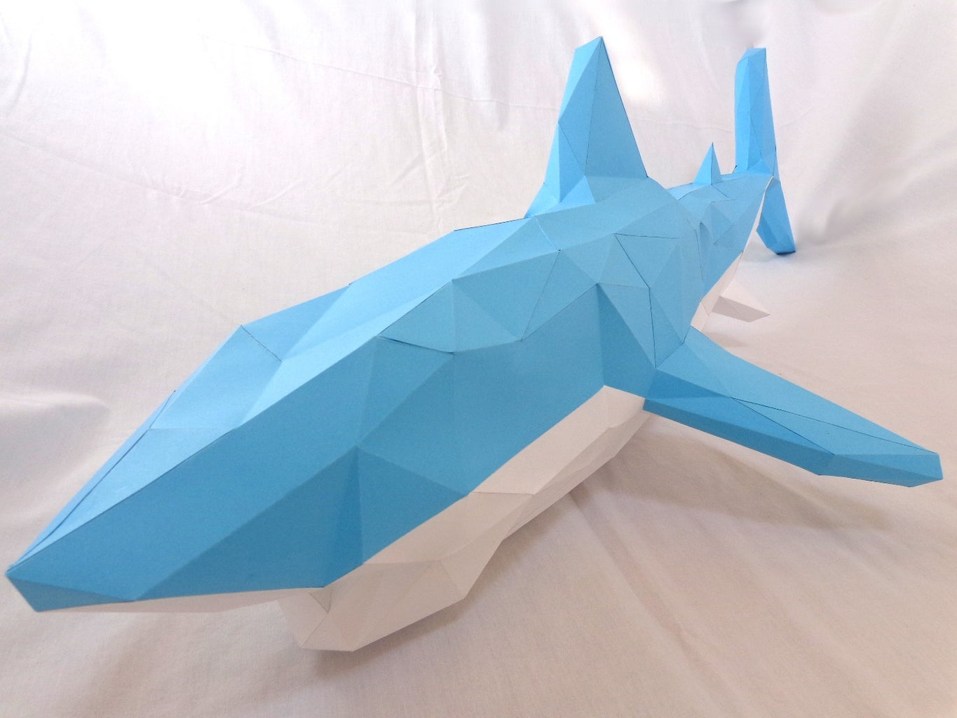 Something in the Water- Shark Papercraft