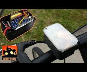 GPS LED Bike Speeometer
