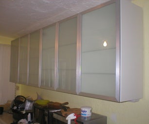 Installing IKEA Upper Kitchen Cabinets