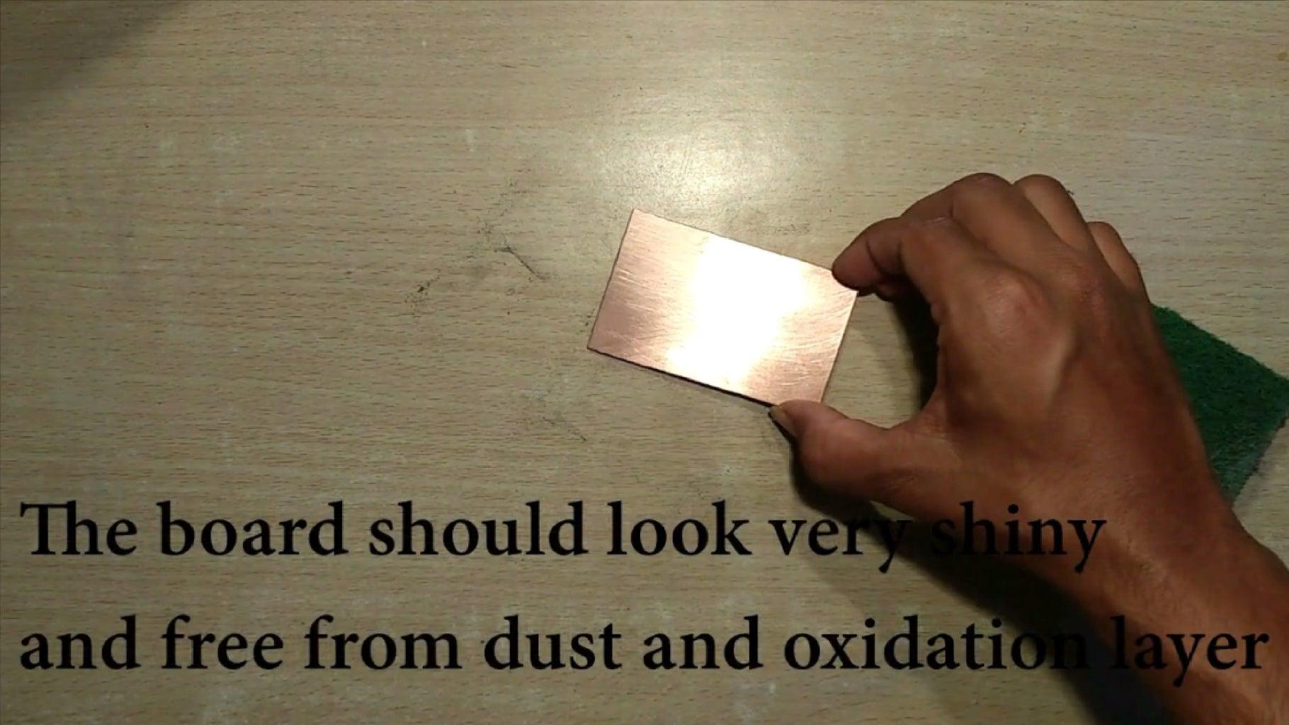 Preparation of Clad Board
