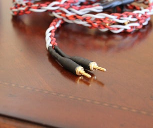 """Make Your Own """"audiophile"""" Quality Speaker Cables!"""