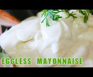 Egg-less Home-made Mayonnaise