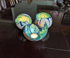 Unique Dragon Egg Candle Holder or Planter