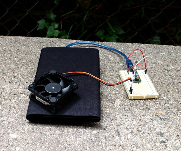 Solar Activated Cooling Fan