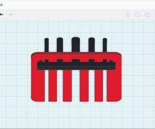 桌面电缆梳管理器