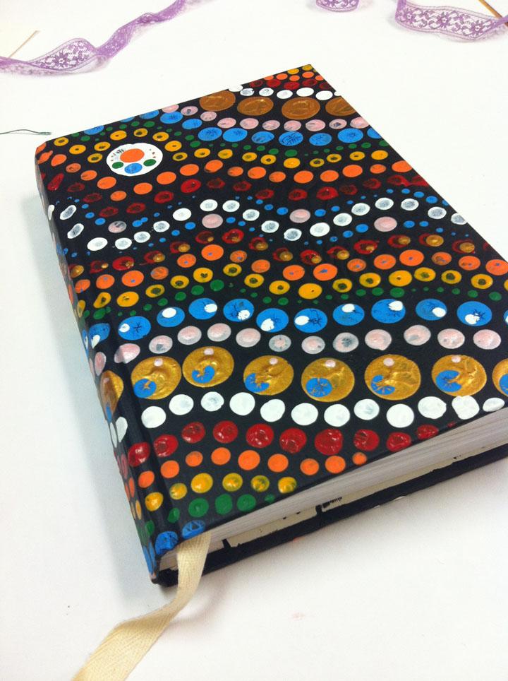 Old Book= New Sketchbook!!