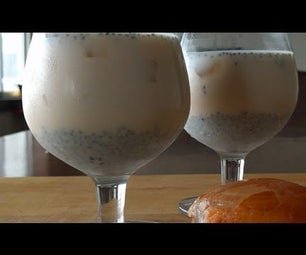 Palm Fruit Cooler - Ice Apple Cooler - Summer Drink Recipe - Nungu