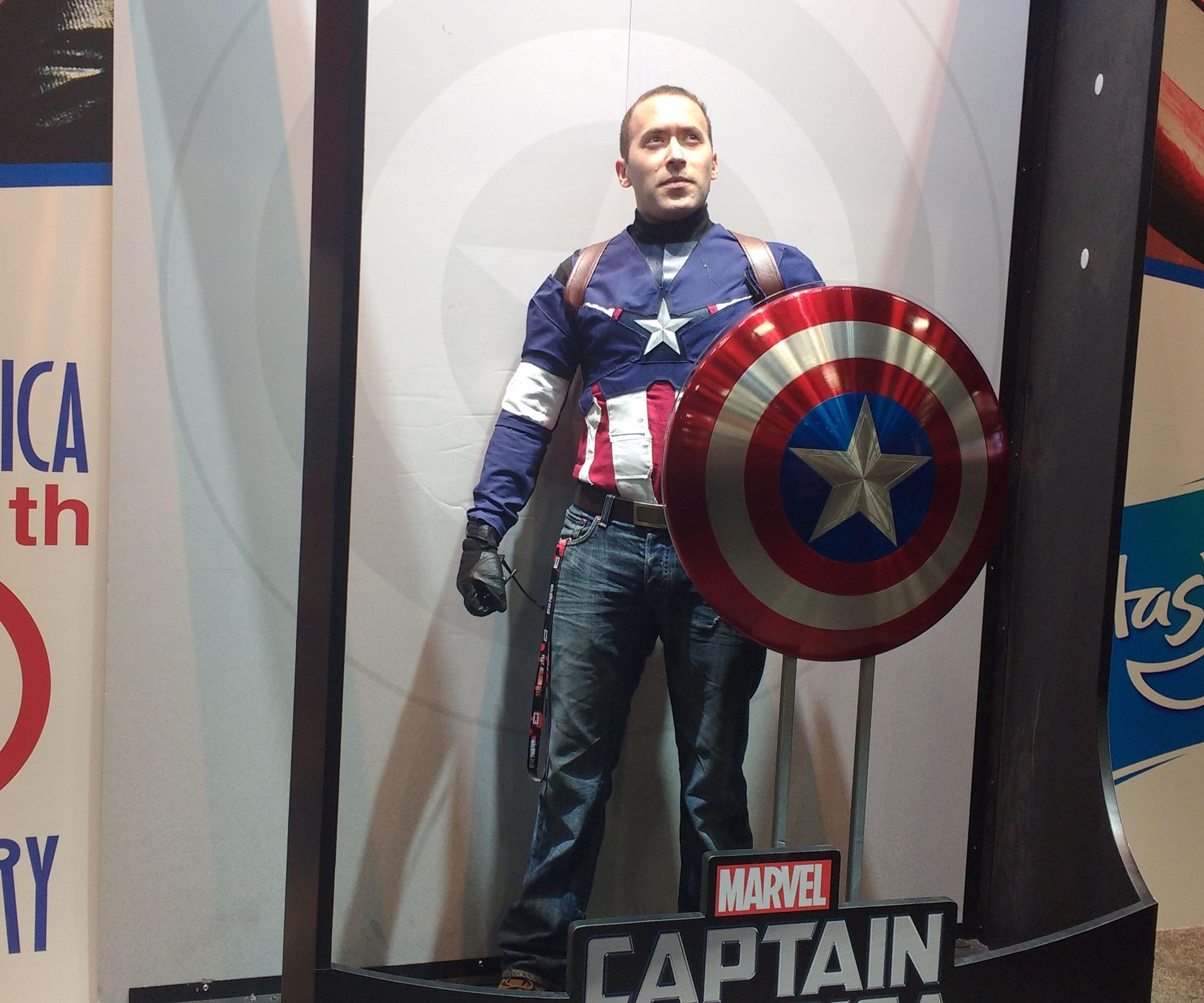 Sewn Captain America Costume