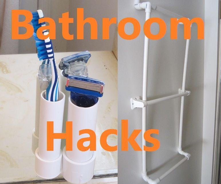 5 PVC Bathroom Life Hacks