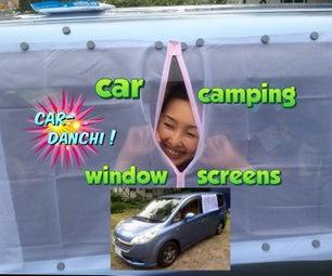 Car Camping Window Screens