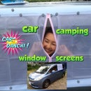 Car Camping Window Screens