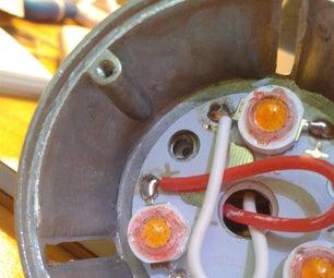 "Making a ""warm"" White LED Spotlight Appear Warmer"