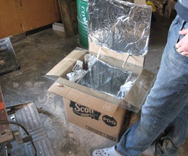 How to Make a Simple Cardboard Solar Oven