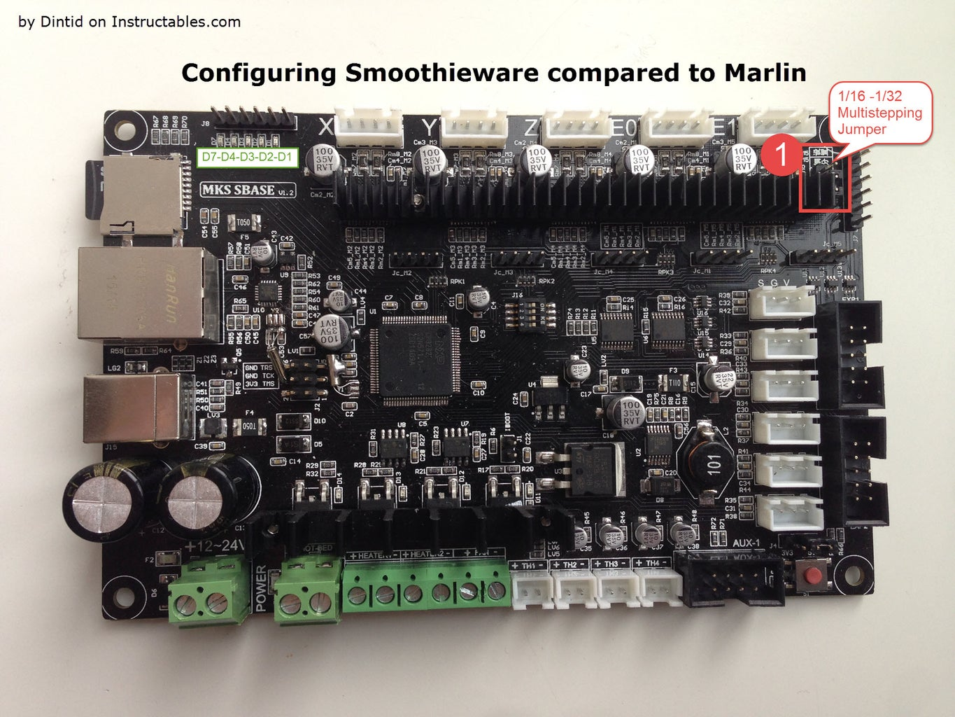 Configuring Smoothieware Compared to Marlin