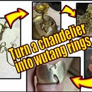 Turn a Chandelier Into Wutang Rings