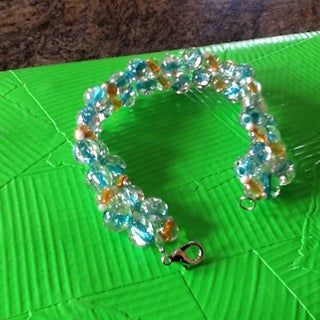 Easy Right Angle Weave Bracelet DIY