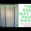 Painting Doors the Easy Way
