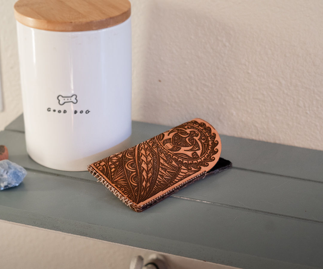 Leather Sunglasses Pouch