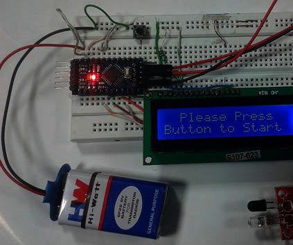 DIY Technometer Using Arduino