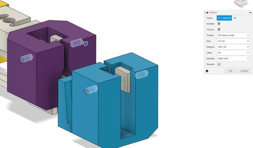 Design Process - Post Processing (grip)
