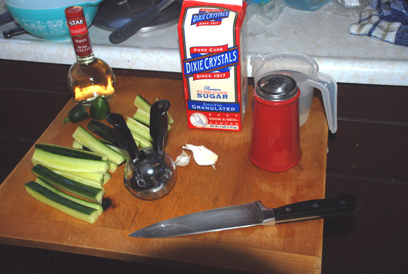 Refrigerator Pickles - Quick n' Easy