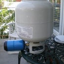 Refill Disposable Propane Tank from a Standard BBQ Cylinder