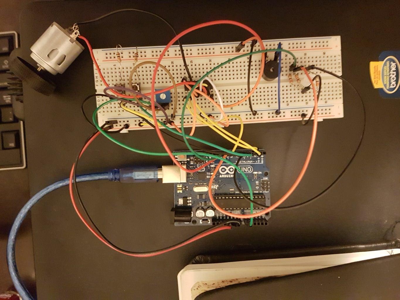 RGB LED Fan With Buzzer