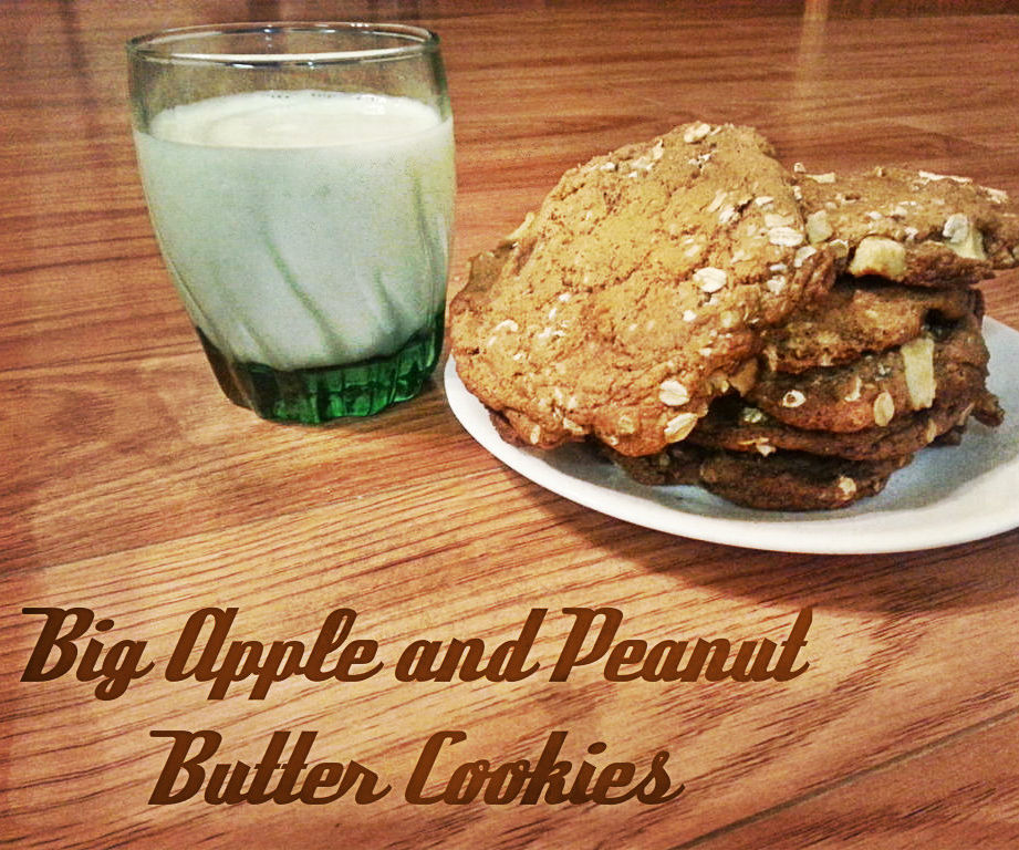 Big Apple and Peanut Butter Cookies