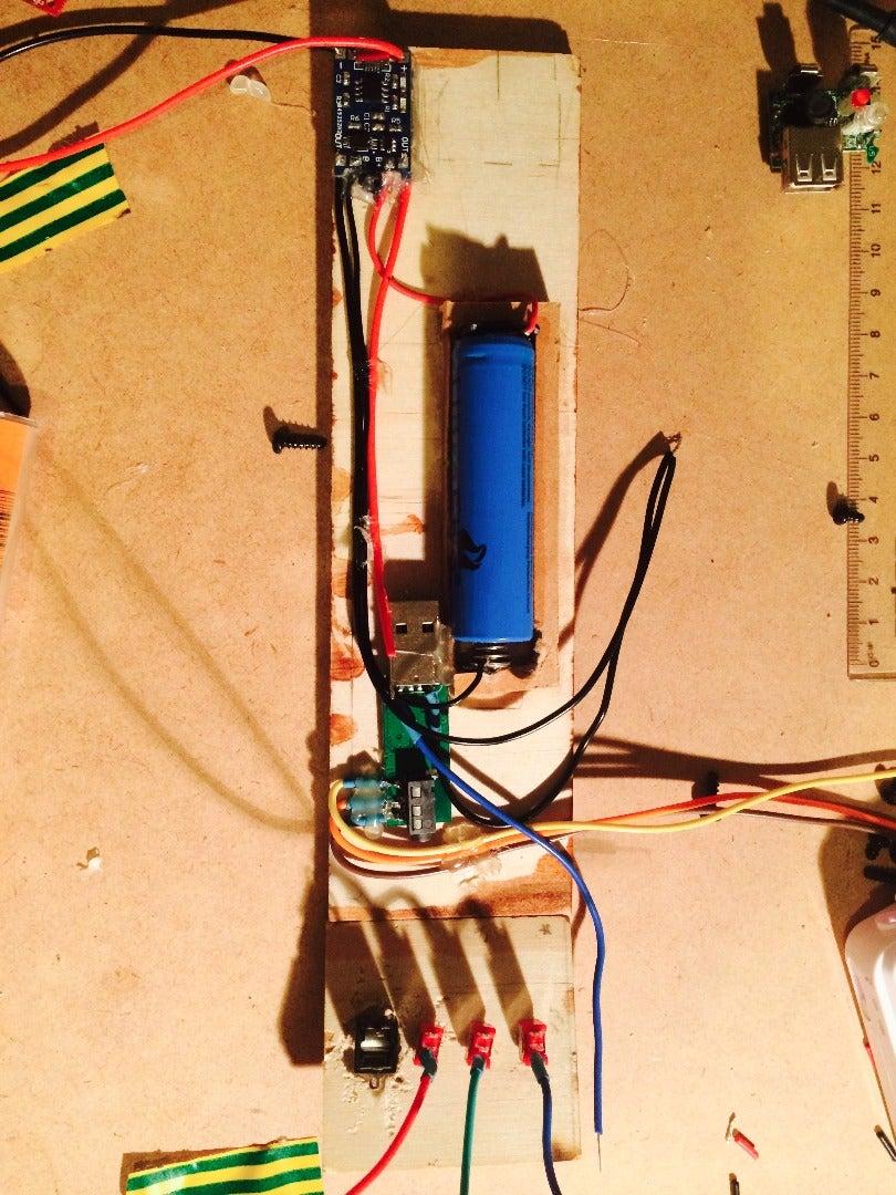 Wiring the Bluetooth Module