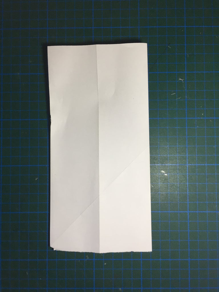 Fold to Middle Crease