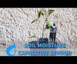 Arduino Plant Monitor With Soil Capacitive Sensor - Tutorial