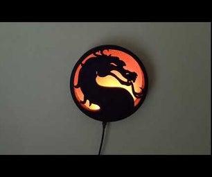 Mortal Kombat Wall Light