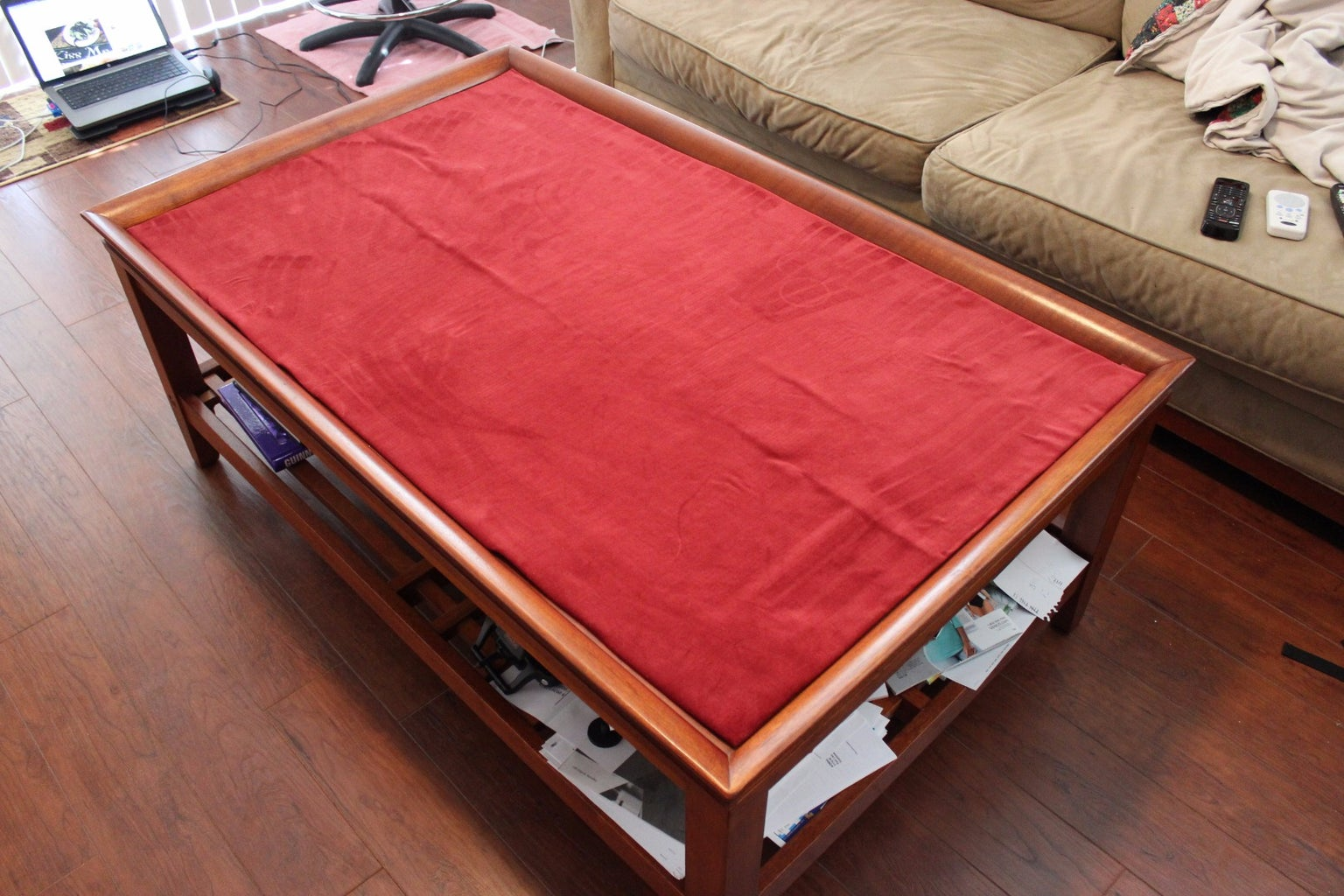 Playable Roll-up Cloth