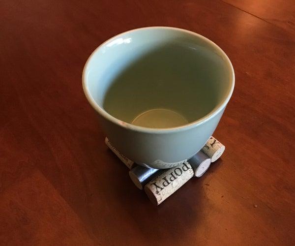 How to Make a Cork Coaster or Trivet