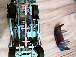 Step 4.-roll Cage and Rear of Car.