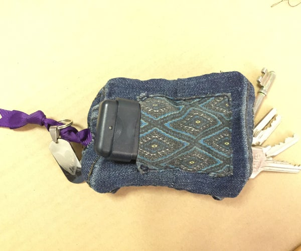 Cloth Key Holder From Recycled Cloth