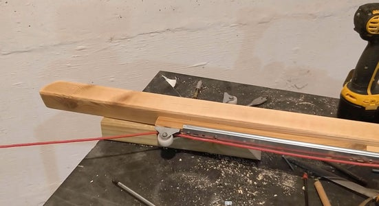 Woodworking - Rope Insertion