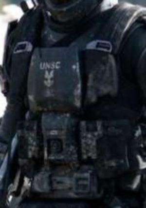 Halo ODST Armor: Torso - Part of ODST Armor Build