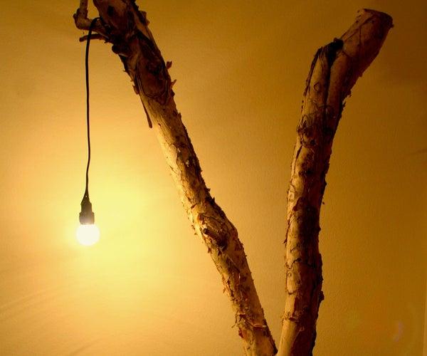 Tree Branch Lamp