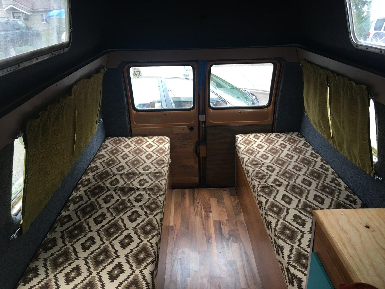 Restoring a 70's Camper Van