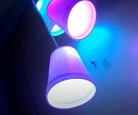 DIY Foam Cup Lights | Easy and Cheap Diwali Decor Idea Using Foam Cups