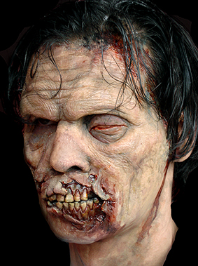 How to Become a Zombie with Prosthetics - Pro Zombie Make up!