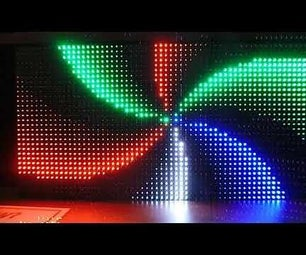 P5 LED面板,带覆盆子皮